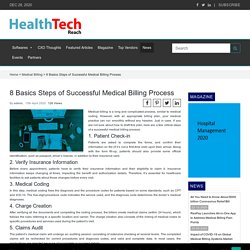 8 Basics Steps of Successful Medical Billing Process - Medical BillingMedical Billing