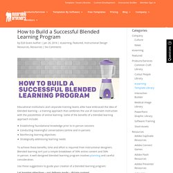 How to Build a Successful Blended Learning Program