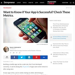 Want to Know if Your App is Successful? Check These Metrics.