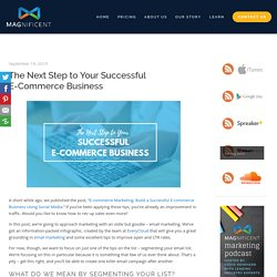 The Next Step to Your Successful E-Commerce Business