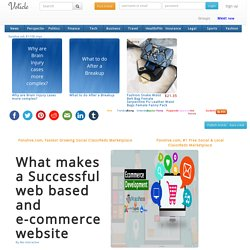 What makes a Successful web based and e-commerce website