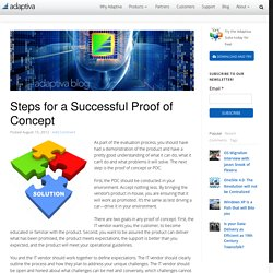 Steps for a Successful Proof of Concept - Adaptiva