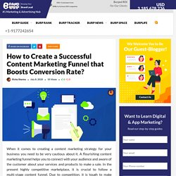 Successful Content Marketing Funnel that Boosts Conversion Rate