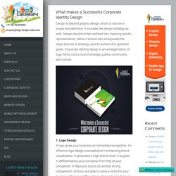 What makes a Successful Corporate Identity Design