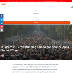 How to Run a Successful Crowdfunding Campaign: 8 Examples