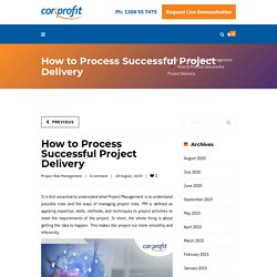How to Process Successful Project Delivery