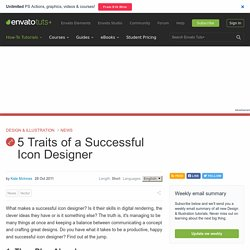 5 Traits of a Successful Icon Designer