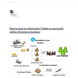 Stable an successful online eCommerce business