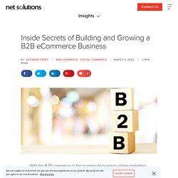 Secret to Build a Successful B2B eCommerce Business