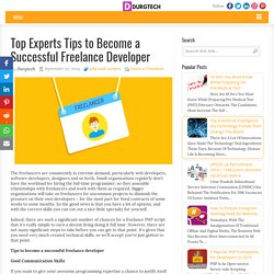 Top Experts Tips to Become a Successful Freelance Developer