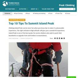 Top 10 Tips for successful Island Peak Climbing