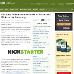 Ultimate Guide How to Make a Successful Kickstarter Campaign