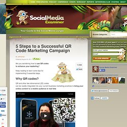 5 Steps to a Successful QR Code Marketing Campaign