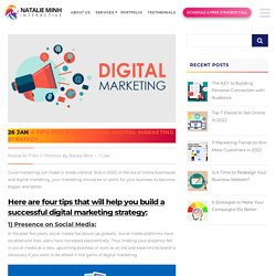 4 Tips For A Successful Digital Marketing Strategy - Fitness Web Design