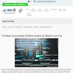 10 Most Successful Online Scams to Watch out For - BSC Solutions Group Ltd.