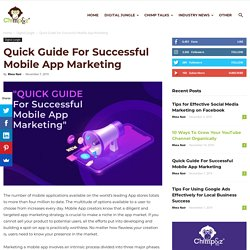 Step-By-Step Guide For Successful Mobile App Marketing in 2019