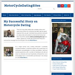 My Successful Story on Motorcycle Dating