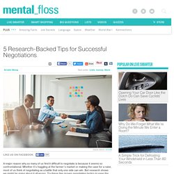 5 Research-Backed Tips for Successful Negotiations