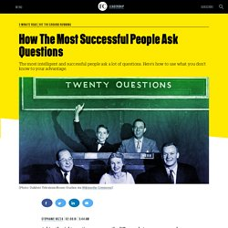 How The Most Successful People Ask Questions
