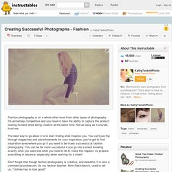 Creating Successful Photographs - Fashion
