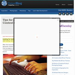 Tips for a Successful Internet Content Publishing Strategy