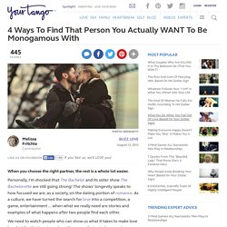 4 MUST-DO Tips For A Successful Monogamous Relationship
