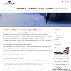 Top 5 Successful Tips to Search Job During Covid-19 Scenario