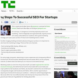 14 Steps To Successful SEO For Startups