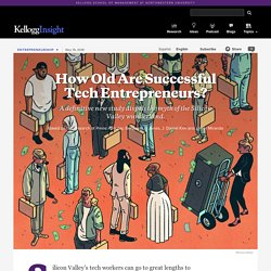 How Old Are Successful Tech Entrepreneurs?