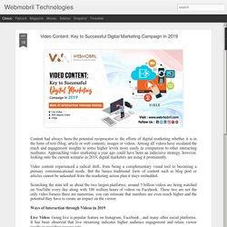 Key to Successful Digital Marketing Campaign