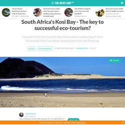 South Africa's Kosi Bay - The key to successful eco-tourism?