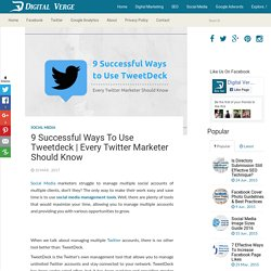 Every Twitter Marketer Should Know