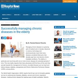 How to successfully manage chronic diseases in the elderly
