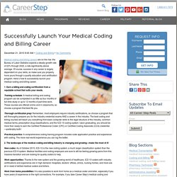 Stay competitive as a medical coder and biller in today's changing landscape