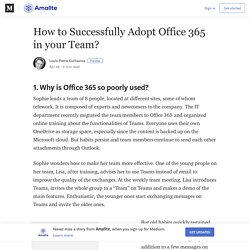 How to Successfully Adopt Office 365 in your Team? – Amallte