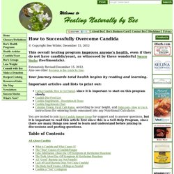 How to Successfully Overcome Candida