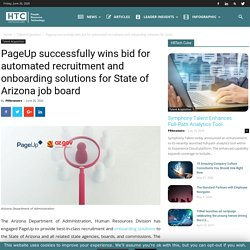 PageUp successfully wins bid for automated recruitment