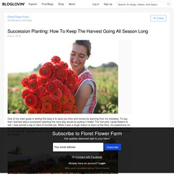 Succession Planting: How To Keep The Harvest Going All Season Long