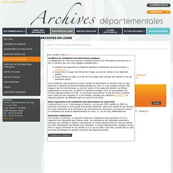 Archives départementales de l'Oise - Tables de successions - Archives en ligne