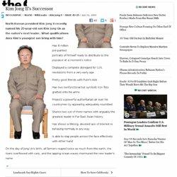 Kim Jong Il's Successor