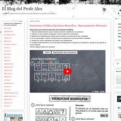 Sucesiones Gráficas Ejercicios Resueltos - Razonamiento Abstracto « Blog del Profe Alex