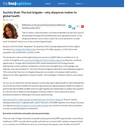 Suchita Shah: The lost brigade—why diasporas matter to global health – The BMJ