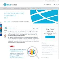 Suchmaschinennutzung in der Schweiz 2014 » BlueGlass Blog