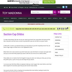Best Suction Cup Dildos That Vibrate For Hands Free Masturbation