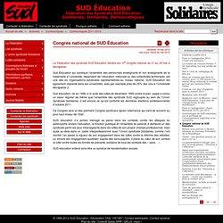 Congrès national de SUD éducation