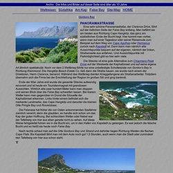 Südafrika - False Bay - Panoramastraße