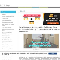 Sudhir Blogs