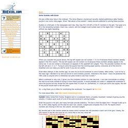 Sudoko Solver in Excel