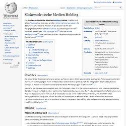 Südwestdeutsche Medien Holding