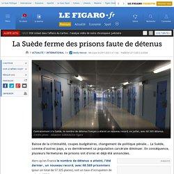 La Suède ferme des prisons faute de détenus
